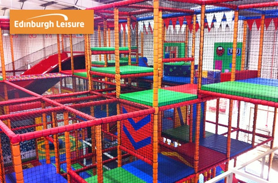 Soft play & lunch box