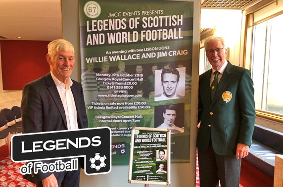 An Evening with Lisbon Lions, Glasgow Royal Concert Hall