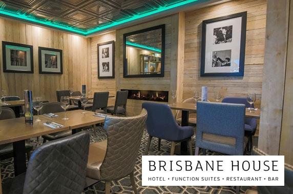 Brisbane House Hotel DBB - £75