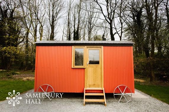 Shepherd's Hut getaway