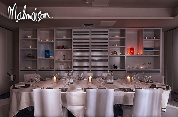 Malmaison Glasgow private dining