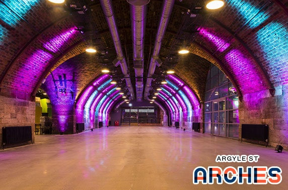 Platform Christmas party nights at Argyle Street Arches