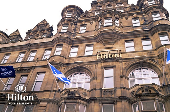 Christmas party night at 4* Hilton Edinburgh Carlton