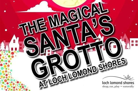 Santa's magical grotto at Loch Lomond Shores