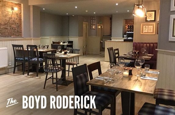 The Boyd Roderick dining, Southside