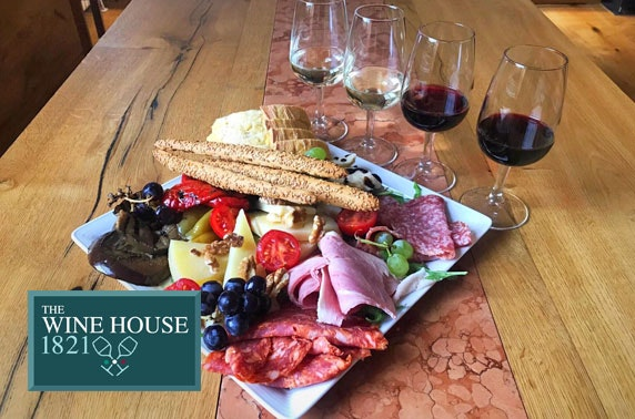 The Wine House 1821 sharing boards & wine flights