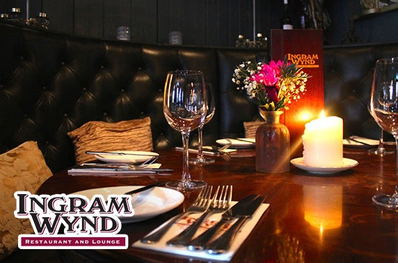 Dining and drinks at Ingram Wynd