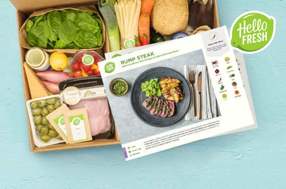 HelloFresh recipe box – from £2 per meal