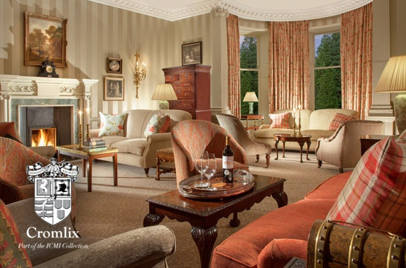 5* Cromlix hotel luxury suite getaway