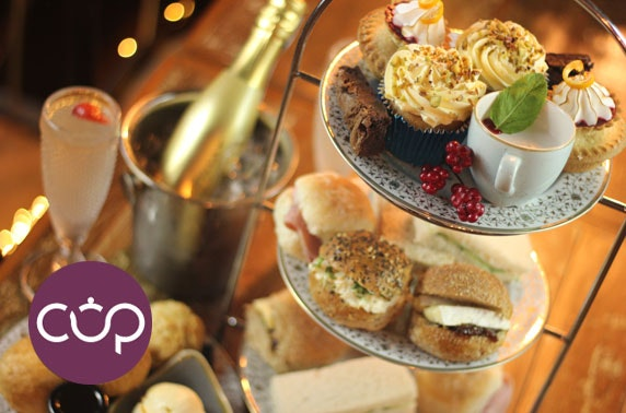 Festive afternoon tea at Cup