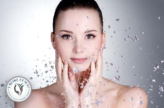 Facial treatments at Empire Beauty Clinic, City Centre