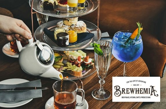Brewhemia afternoon tea, City Centre