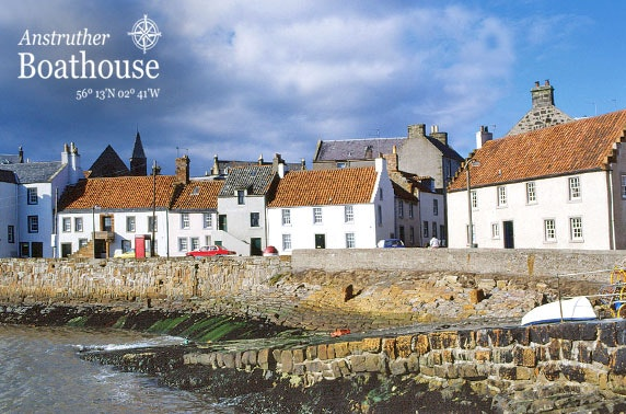 The Boathouse fish & chips, Anstruther