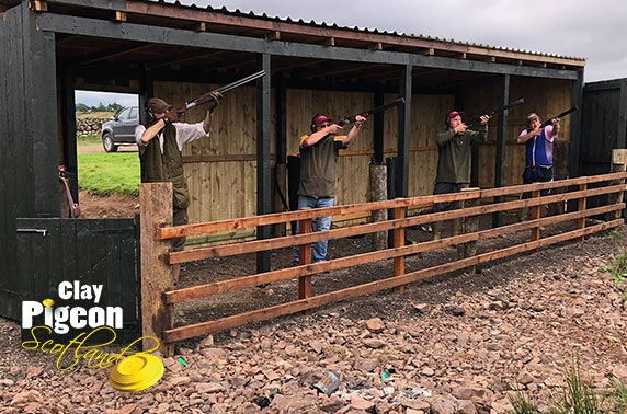 Clay pigeon shooting and archery, Stirling
