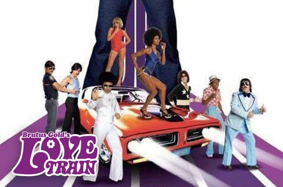 Brutus Gold's Love Train - 70s disco night at the O2 Academy