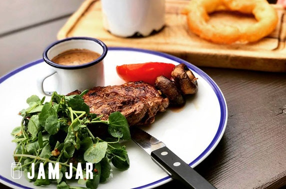 Jam Jar steaks, Jesmond