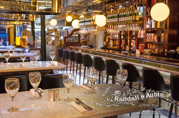 Seafood dining at Randall and Aubin, Spinningfields