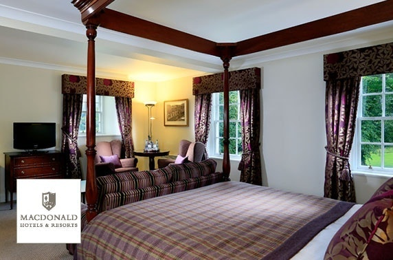 4* Macdonald Pittodrie House stay, Inverurie