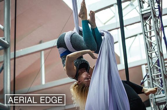 Hoop or silks class, Kelvin Hall