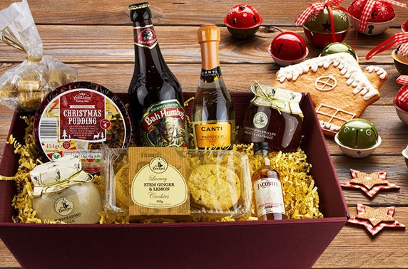 Christmas food & drink hamper
