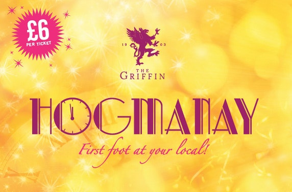 The Griffin's Hogmanay Party, Bath Street