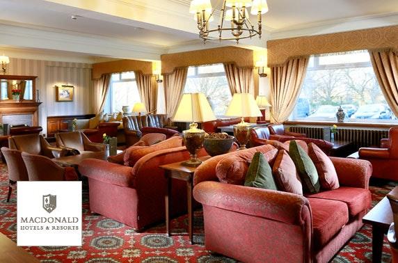 4* Macdonald Drumossie Hotel afternoon tea
