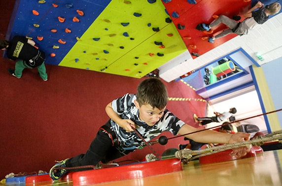 Soft play & climbing parties at Rock Over Climbing - from £6 per person