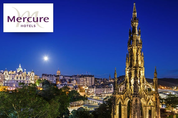 Mercure Edinburgh Princes Street stay