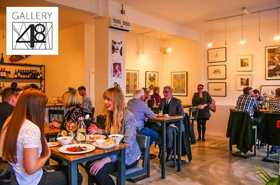 Gallery 48 tapas & wine