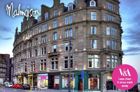 4* Malmaison Dundee DBB - £99