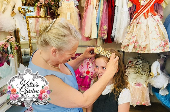 Princess pamper experience with fairy godmother