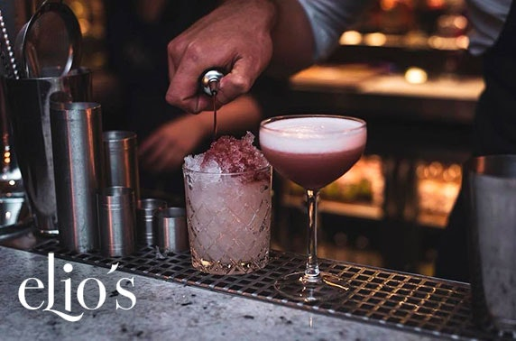 Elio's cocktails & nibbles, Edinburgh