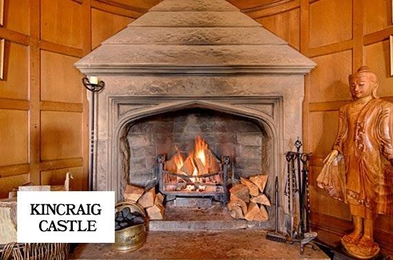 4* Kincraig Castle Hotel romantic break