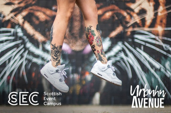 Sneaker, streetwear and lifestyle convention at SEC, Glasgow