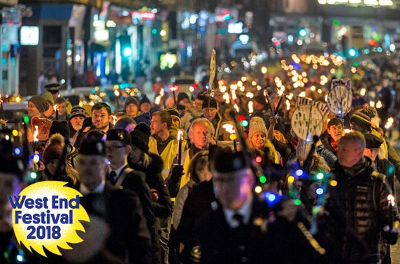 St Andrew S Day Torchlight Parade West End Itison