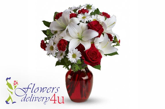 Flowers Delivery 4 U voucher; perfect for Xmas