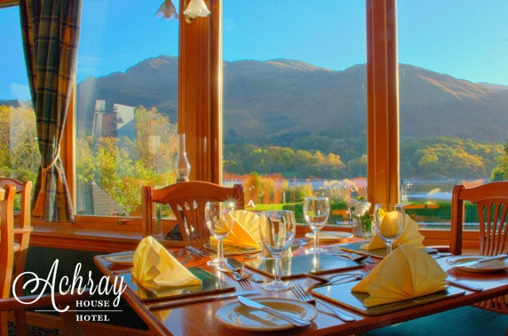 Gastronomic Getaway at award-winning Achray House Hotel