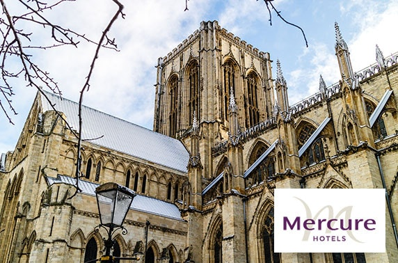 Mercure York Fairfield Manor Hotel stay