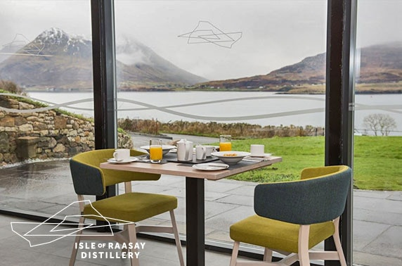 5* Isle of Raasay Distillery stay