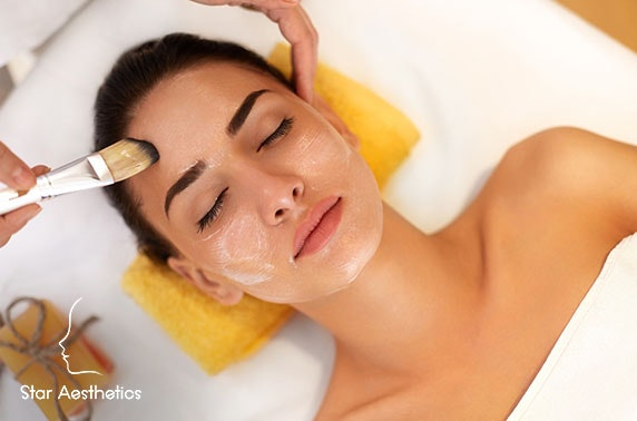 Facials at newly-refurbished Star Aesthetics