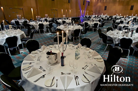 New Year's Eve party, Hilton Deansgate