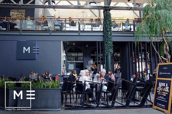 Metropolitan afternoon tea, Merchant Square