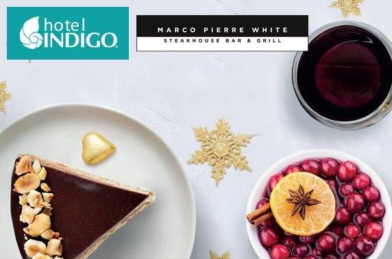 4* Hotel Indigo festive small plates
