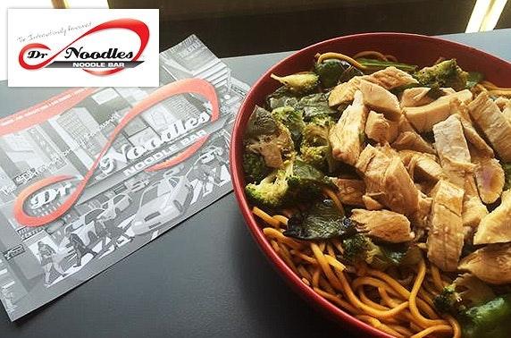 Dr Noodles rice & noodles boxes - £2.50pp