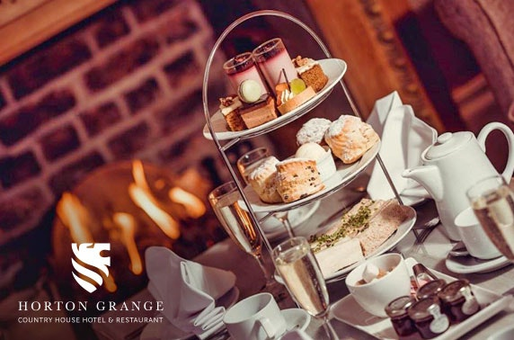 AA Rosette Horton Grange Country House Hotel afternoon tea