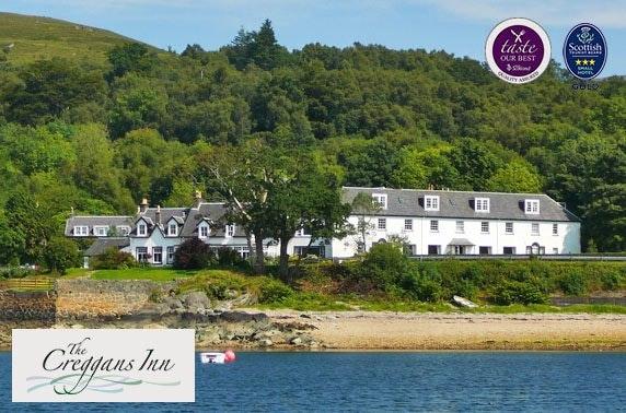 Award-winning Loch Fyne getaway