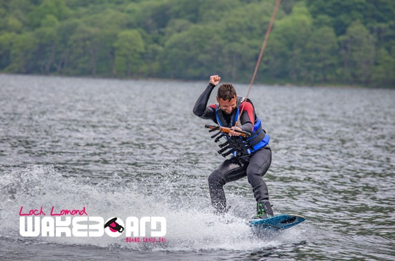 Loch Lomond wakeboarding