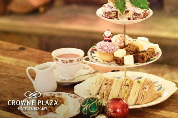 4* Crowne Plaza afternoon tea