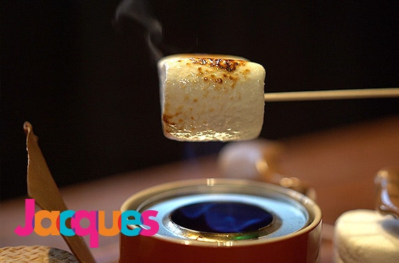 Brand-new Jacques s'mores party, Finnieston