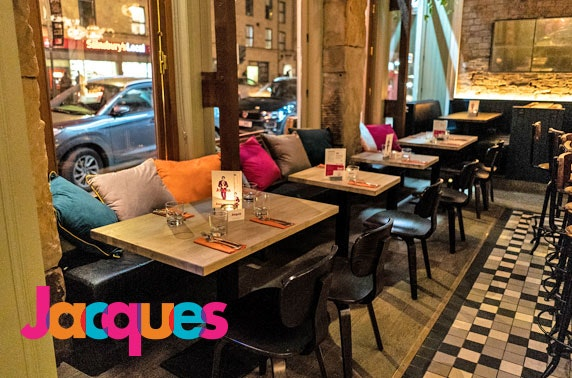 Brand-new Treetops dining at Jacques, Finnieston